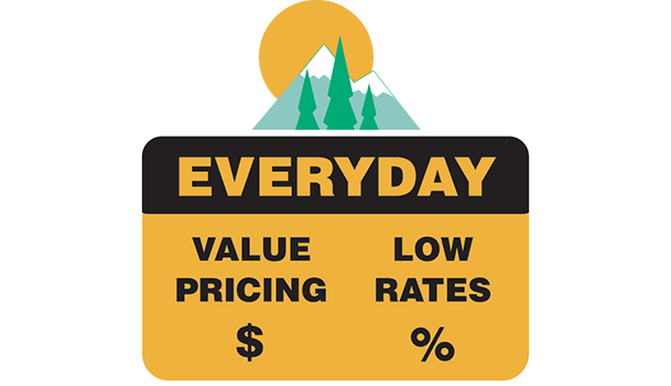 Low Rates and Everyday Value Pricing