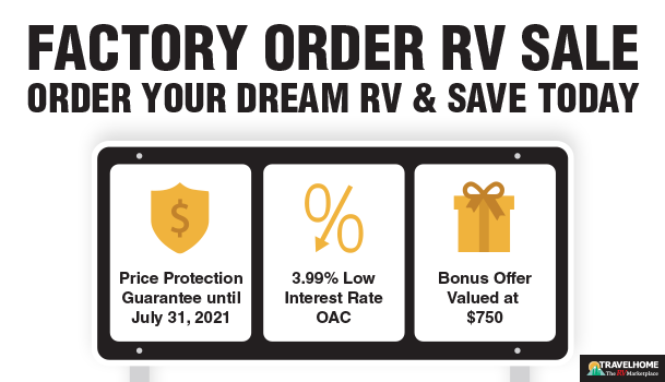 Travelhome RV Factory Order RV Sale